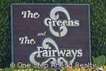 sign for The Fairways