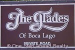 sign for Glades of Boca Lago, The
